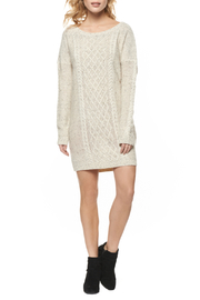 Dex Cable Sweater Dress - Product Mini Image