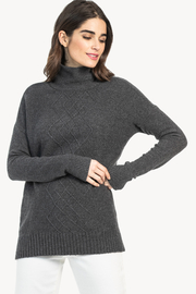 Lilla P Cable Turtleneck Sweater - Product Mini Image