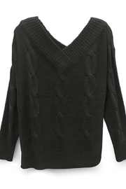 RD Style Cableknit Pine Sweater - Product Mini Image