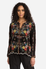 Johnny Was Collection Cabo Button Down Blouse - Front cropped