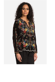 Johnny Was Collection Cabo Button Down Blouse - Side cropped