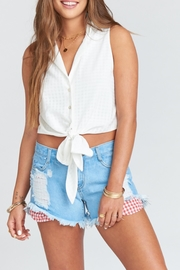 Show Me Your Mumu Cabo Cut-Off Shorts - Product Mini Image