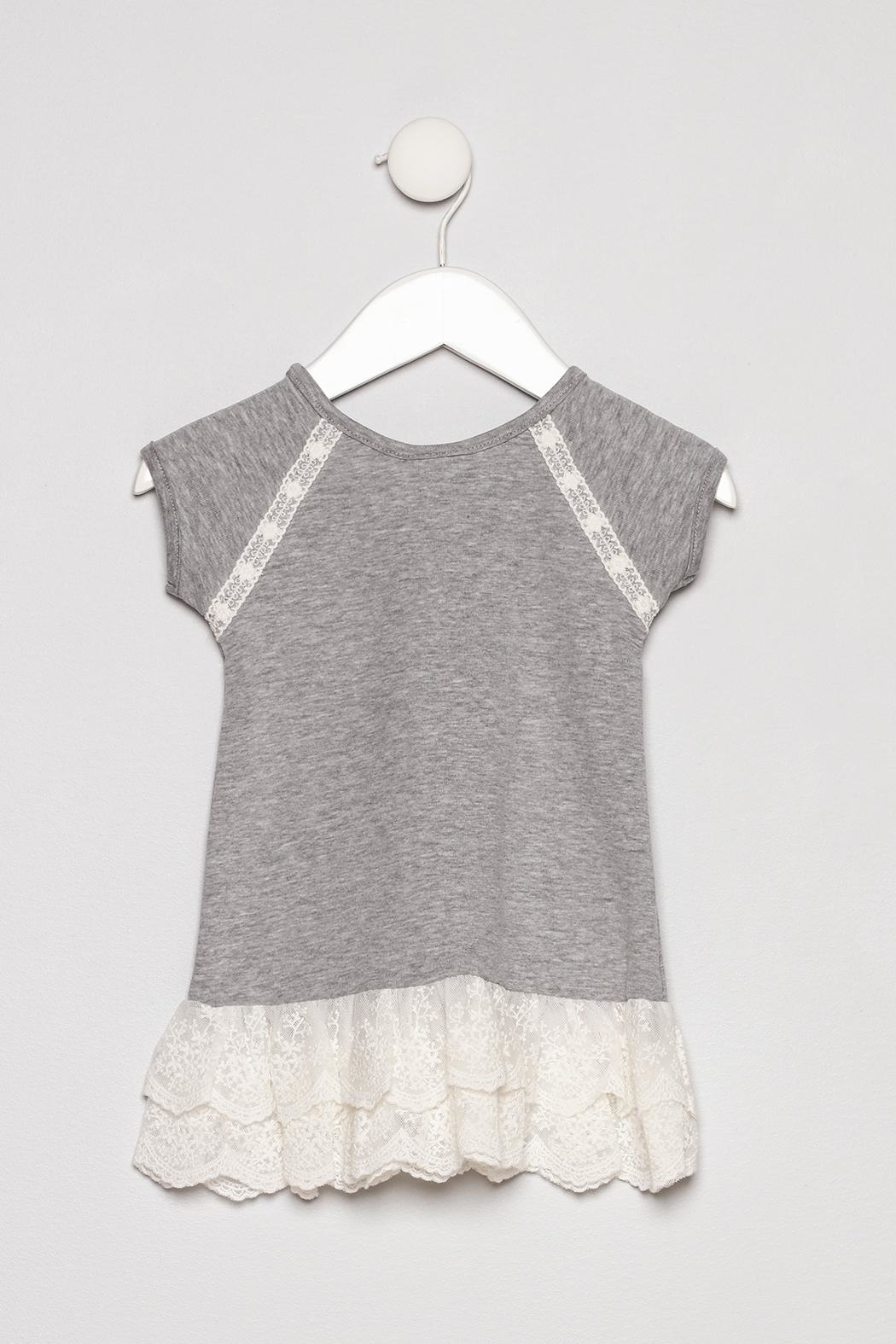 Cach Cach Lace Trim Outfit - Back Cropped Image