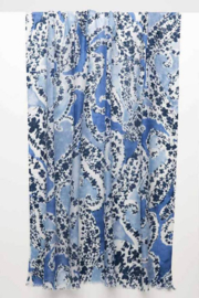 Kinross Cashmere CACHEMIR PRINT SCARF - Product Mini Image