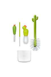 boon by Tomy Cacti Brush Cleaning Set - Front full body