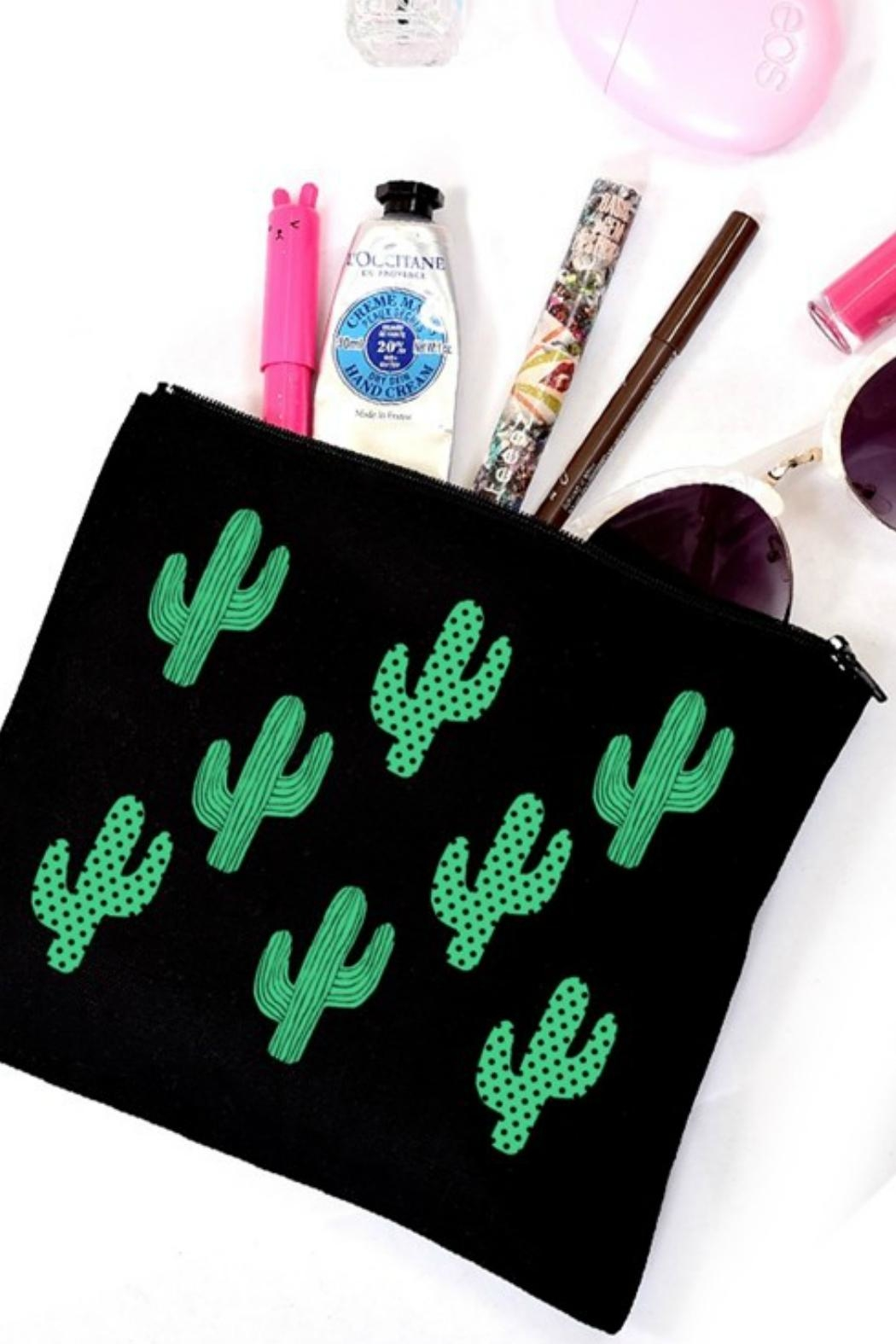 Imagine That Cactus Bag - Front Cropped Image