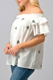 Modern Emporium Cactus Embroidered Smocked - Other