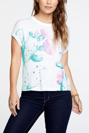 Chaser Cactus Flower Tee - Product Mini Image