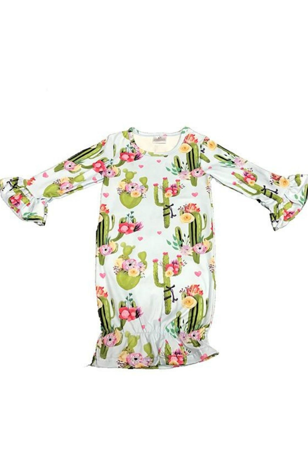 Lady Charm Cactus Onesie - Front Cropped Image