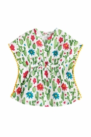 MUDPIE Cactus Print Coverup - Front cropped