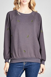 Ellison Cactus Pullover - Front cropped