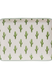 Bloomingville Cactus Stoneware Dish - Front cropped