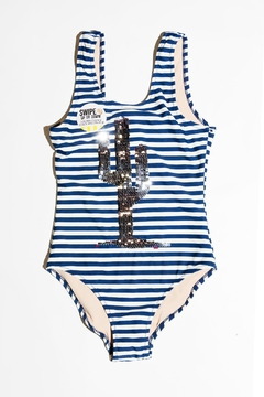 shade critters PALM BEACH Cactus Stripe One-Piece - Alternate List Image
