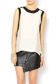 See U Soon Contrast Tank - Front cropped