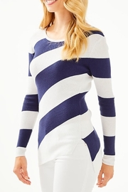 Lilly Pulitzer Cadee Striped Sweater - Front cropped