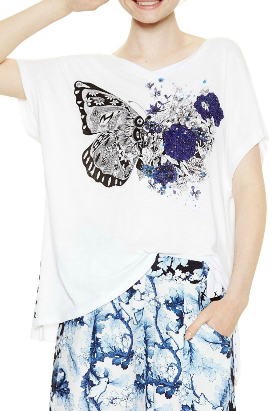 DESIGUAL Caden Tunic T - Front Cropped Image