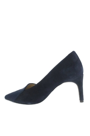 Ron White Cadence Navy Pump - Front cropped