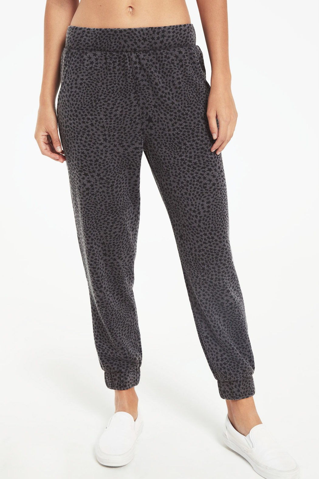 z supply Cadence Stardust Jogger - Front Cropped Image