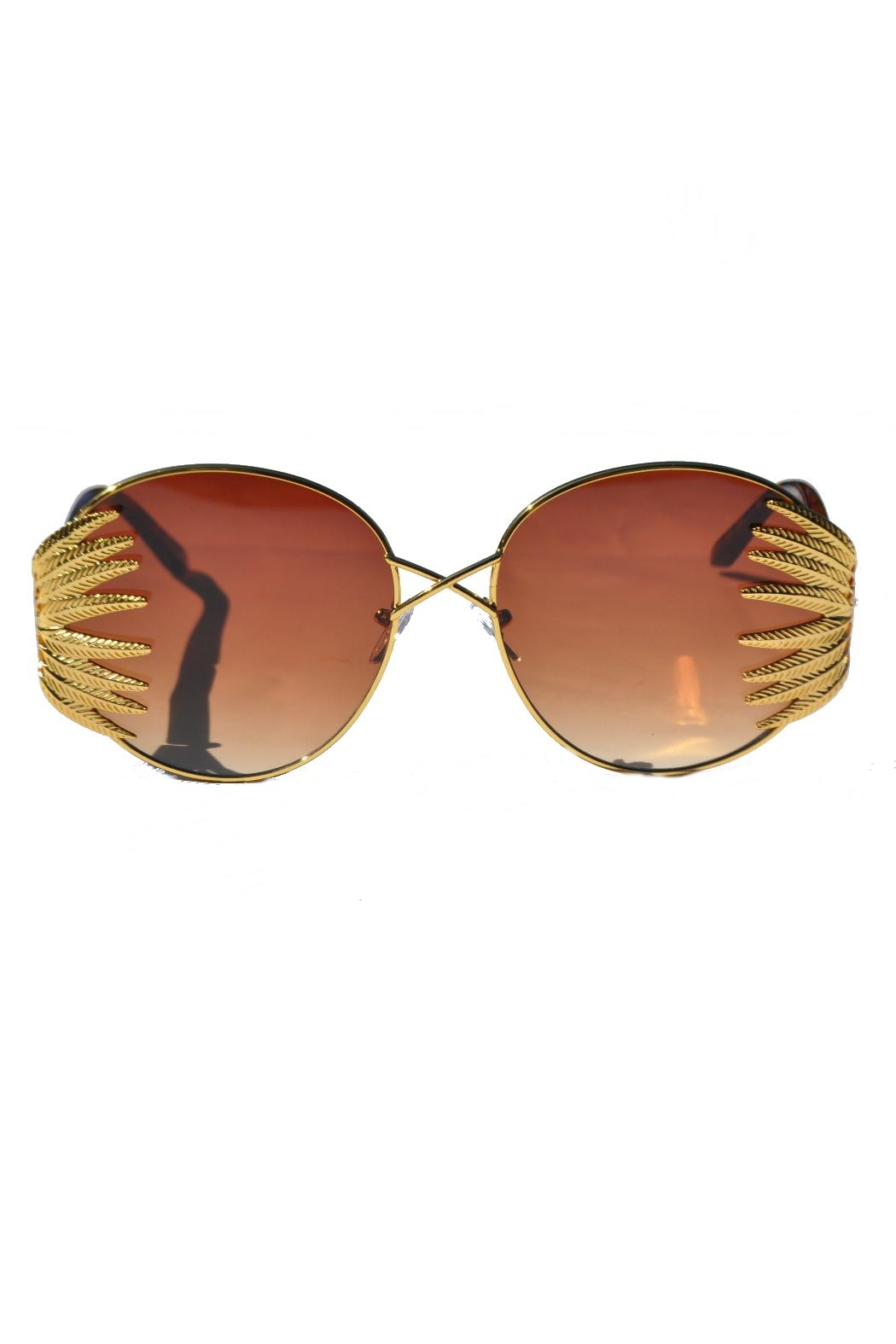 Minx Cadillac Sunglasses - Front Cropped Image