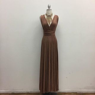 Shoptiques Brown Maxi Dress