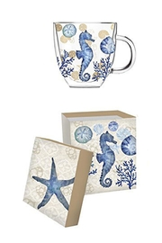 Evergreen Enterprises Café Cup Seahorse - Product Mini Image