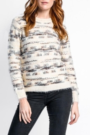 Pink Martini Cafe Montreal Sweater - Front cropped