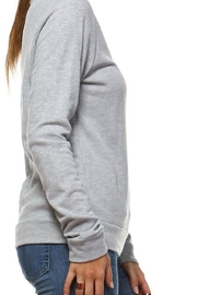 Rock Rose Couture Caffeine-And-Sarcasm Sweatshirt - Front full body
