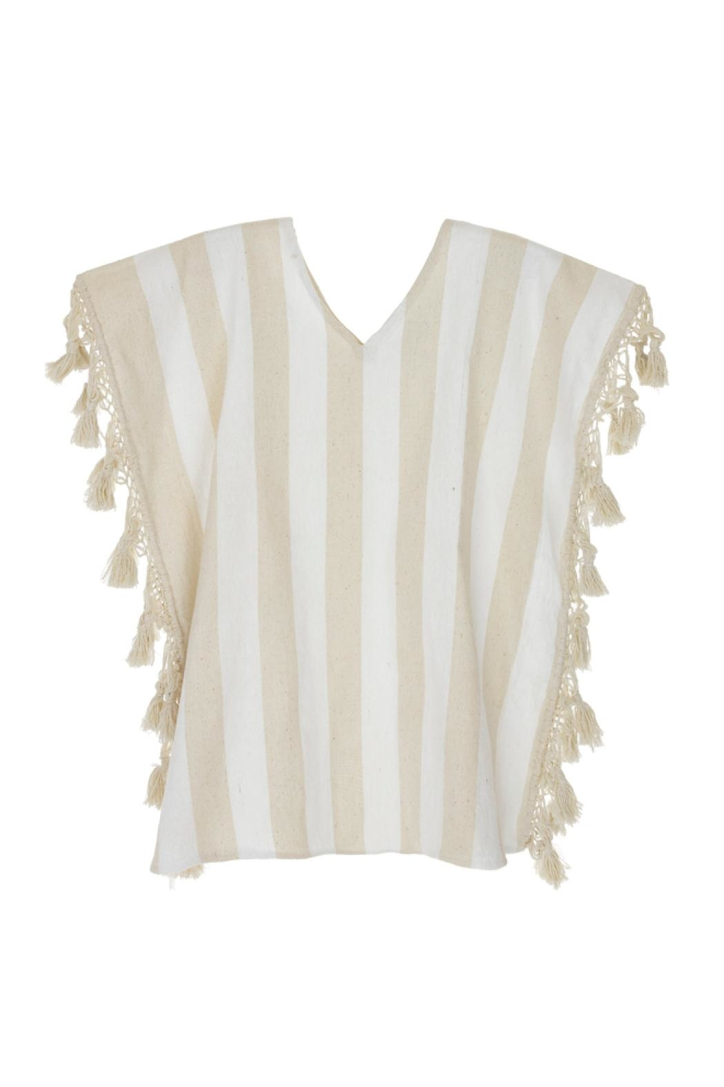 Nativa Caftan Blouse - Front Cropped Image