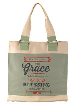 Shoptiques Product: Canvas Tote, Grace