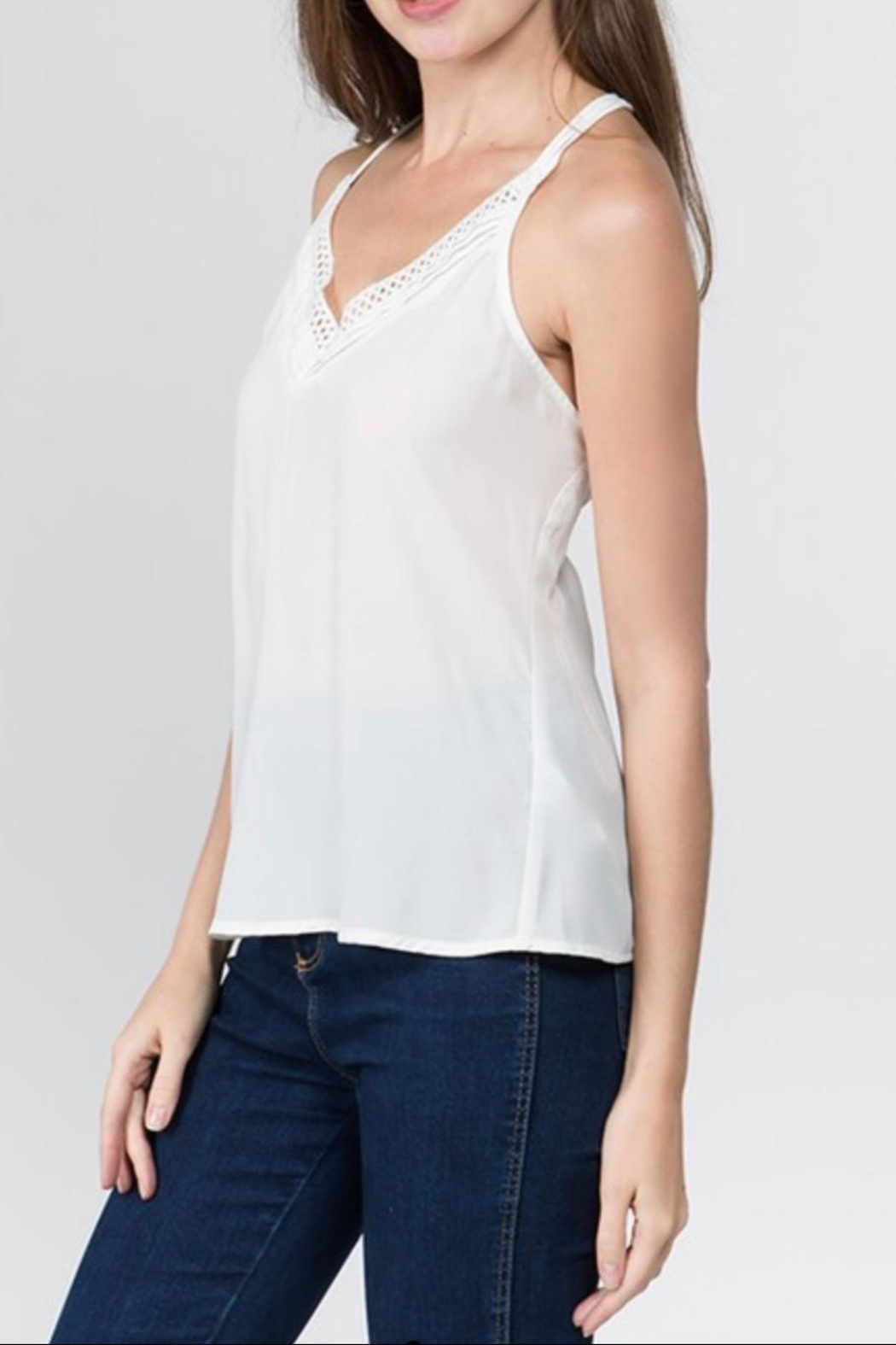 Milk & Honey Cage Cami Top - Front Full Image