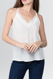 Milk & Honey Cage Cami Top - Front cropped