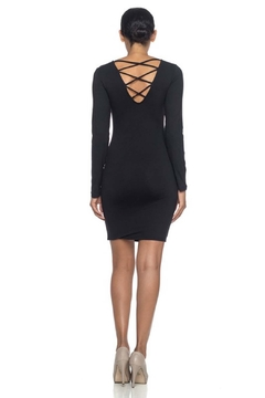 Capella Apparel Caged Back Dress - Product List Image