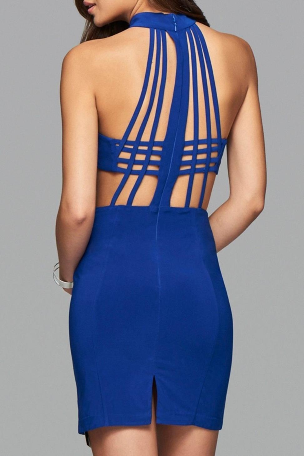 Faviana Caged Back Dress - Front Full Image
