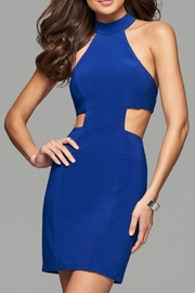 Faviana Caged Back Dress - Front cropped