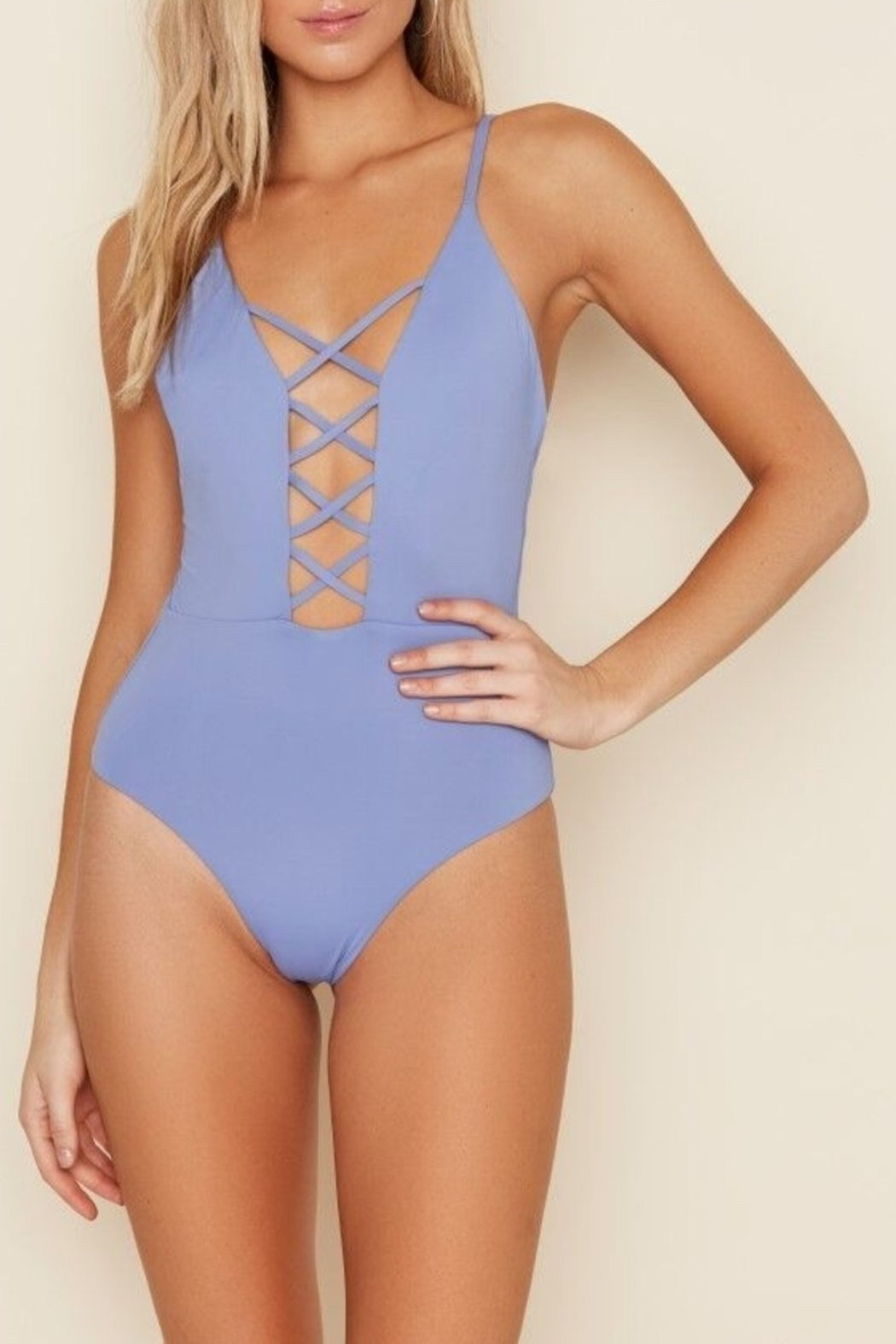 Dippin Daisy's Caged Front One Piece Swimsuit - Main Image