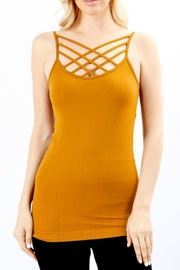 Zenana Outfitters Caged Tank - Product Mini Image