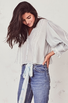 love shack fancy Cailin Top - Product List Image