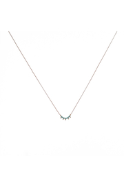 Bronwen Cairn Necklace - Turquioise - Product Mini Image