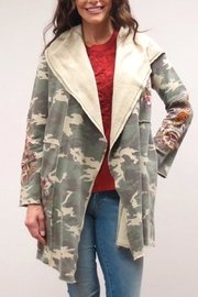 Caite Camo Bohemian Jacket - Product Mini Image