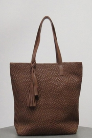 Caite Delphine Leather Bag - Front cropped