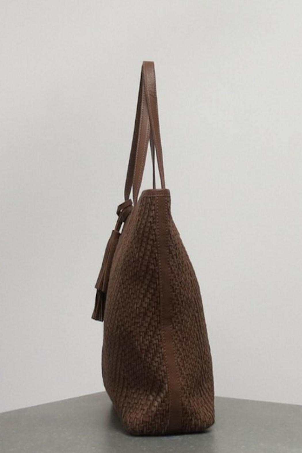 Caite Delphine Leather Bag - Front Full Image