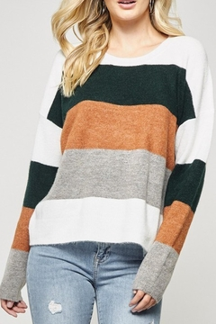 Shoptiques Product: Caitlyn Colorblock Sweater