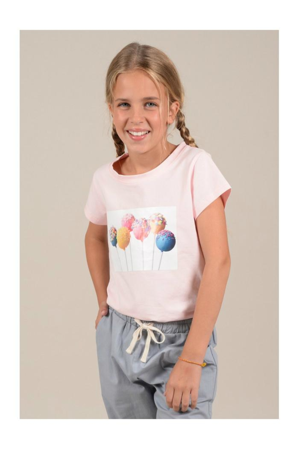 Mini Molly Cake Pop Tee - Side Cropped Image
