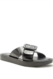 Qupid Cal Sandal - Front cropped