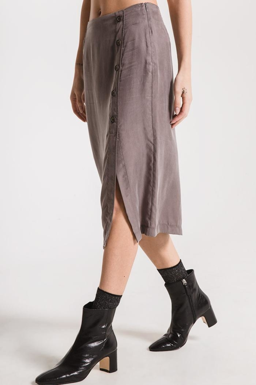 rag poets Calais Skirt - Side Cropped Image
