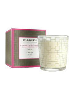 Caldrea Rosewater Driftwood Candle - Product List Image