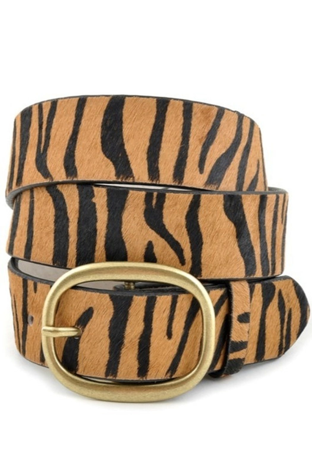 Anzell Calf Hair Belt - Main Image