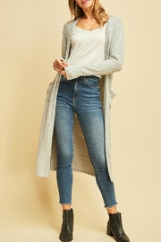Entro Calf Length Cardigan - Product Mini Image