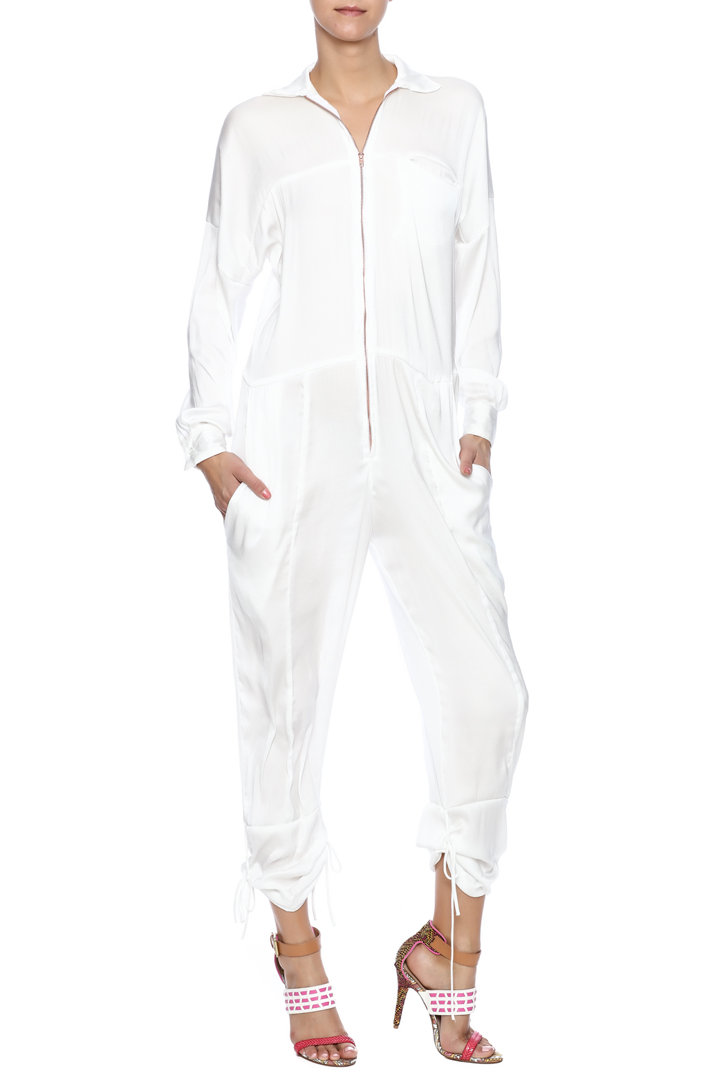 Cali Dreaming Flight Jumpsuit - Main Image