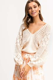 Lush Clothing  CALI LOVE SWEATER - Front cropped